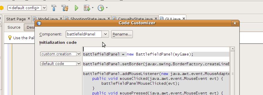 Designing a Java Game – Tim Wheeler